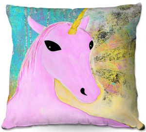 Throw Pillows Decorative Artistic | China Carnella - Pink Unicorn