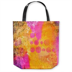 Unique Shoulder Bag Tote Bags | China Carnella - Pink FIre | abstract pattern