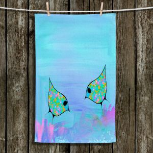 Unique Bathroom Towels | China Carnella - Purple Birds | simple pattern nature