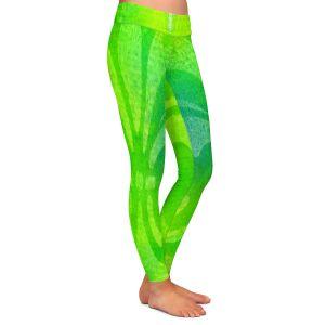 Casual Comfortable Leggings | China Carnella - Vert de Lis | fleur de lit symbol shape outline