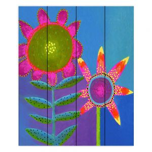 Decorative Wood Plank Wall Art | China Carnella - You n Me | flower nature simple