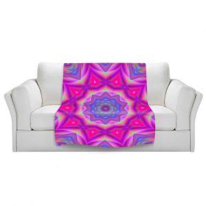 Artistic Sherpa Pile Blankets | Christy Leigh - Balanced