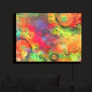 Nightlight Sconce Canvas Light | Christy Leigh - Cosmic Dream