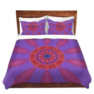 Artistic Duvet Covers and Shams Bedding | Christy Leigh - Divine Flower