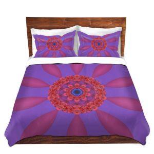 Artistic Duvet Covers and Shams Bedding | Christy Leigh - Divine Flower