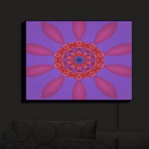 Nightlight Sconce Canvas Light   Christy Leigh - Divine Flower