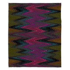 Decorative Fleece Throw Blankets | Christy Leigh - Electrifying