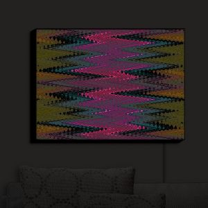 Nightlight Sconce Canvas Light | Christy Leigh - Electrifying | Abstract Stylized Colorful