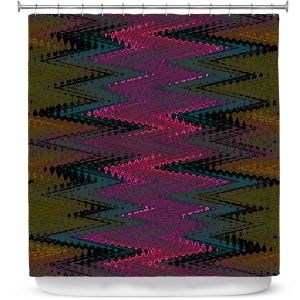 Premium Shower Curtains | Christy Leigh - Electrifying