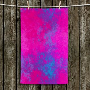 Unique Hanging Tea Towels | Christy Leigh - Enchant | Abstract Stylized Colorful
