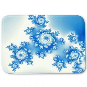Decorative Bathroom Mats | Christy Leigh - Eternal Blue