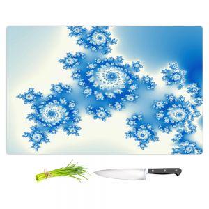 Artistic Kitchen Bar Cutting Boards | Christy Leigh - Eternal Blue