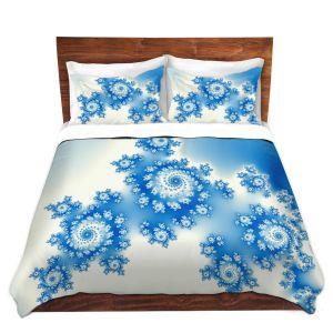 Artistic Duvet Covers and Shams Bedding | Christy Leigh - Eternal Blue