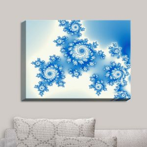 Decorative Canvas Wall Art | Christy Leigh - Eternal Blue