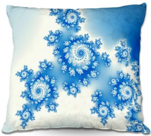 Throw Pillows Decorative Artistic | Christy Leigh - Eternal Blue