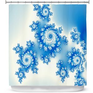Premium Shower Curtains | Christy Leigh - Eternal Blue