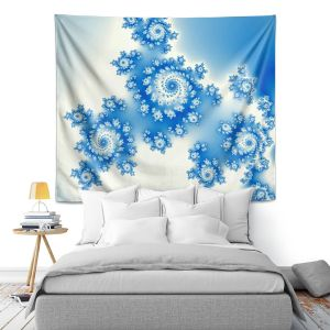 Artistic Wall Tapestry | Christy Leigh - Eternal Blue
