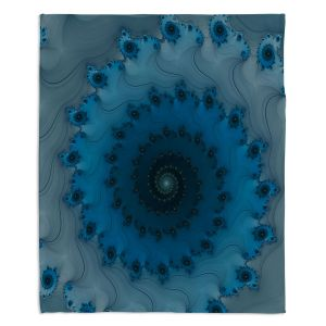 Decorative Fleece Throw Blankets | Christy Leigh - Etheral Infinity