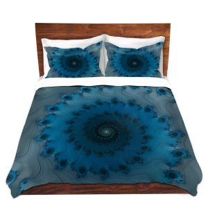 Decorative Duvet Covers from DiaNoche by Christy Leigh - Etheral Infinity