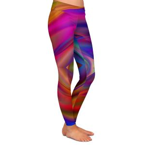 Casual Comfortable Leggings | Christy Leigh - Geometric Coloration
