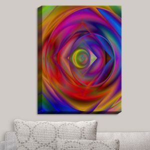 Decorative Canvas Wall Art | Christy Leigh - Geometric Coloration