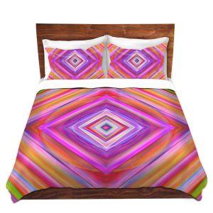 Artistic Duvet Covers and Shams Bedding | Christy Leigh - Geometric Harmony