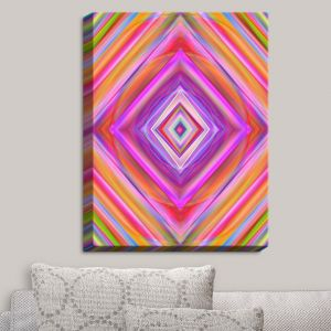 Decorative Canvas Wall Art | Christy Leigh - Geometric Harmony