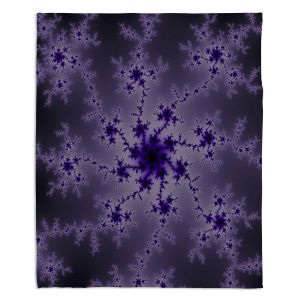 Artistic Sherpa Pile Blankets | Christy Leigh - Imperial Mystery