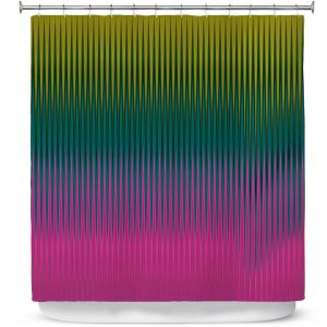Unique Shower Curtains 71w x 74h Inches from DiaNoche Designs by Christy Leigh  - Magnetizing