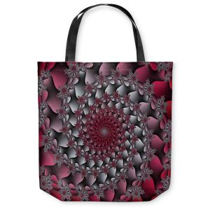 Unique Shoulder Bag Tote Bags | Christy Leigh - Petal Of Rose