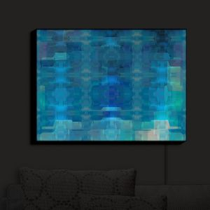 Nightlight Sconce Canvas Light | Christy Leigh - Reflection | Abstract Stylized Colorful