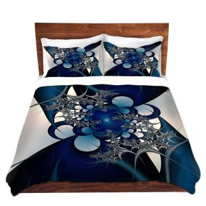 Artistic Duvet Covers and Shams Bedding | Christy Leigh - Sky and Moon