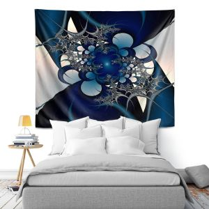 Artistic Wall Tapestry | Christy Leigh - Sky and Moon