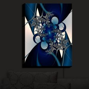 Nightlight Sconce Canvas Light | Christy Leigh - Sky and Moon | Abstract Stylized Colorful