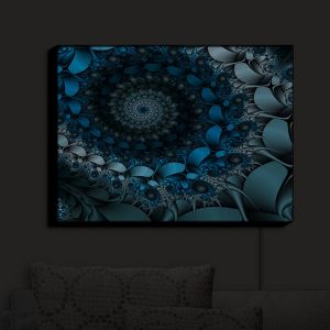 Nightlight Sconce Canvas Light | Christy Leigh - Spirling Winds | Abstract Stylized Colorful