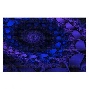 Decorative Floor Coverings   Christy Leigh - Spirling Winds II   Abstract Spiral Fractal