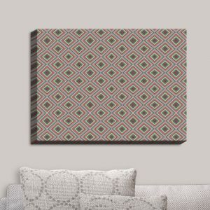 Decorative Canvas Wall Art | Christy Leigh - Spring Diamonds
