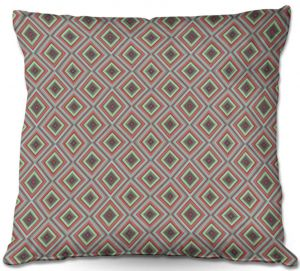 Throw Pillows Decorative Artistic | Christy Leigh - Spring Diamonds