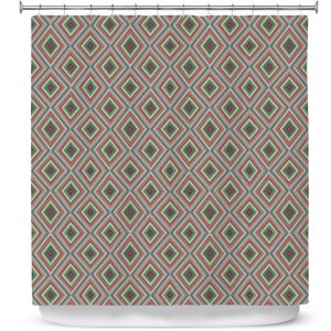 Premium Shower Curtains | Christy Leigh - Spring Diamonds