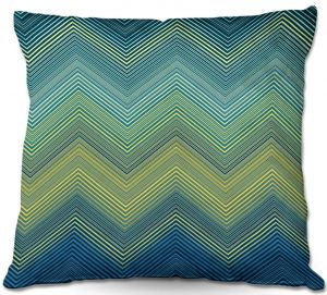 Unique Throw Pillows from DiaNoche Designs by Christy Leigh - Teling Zig Zag
