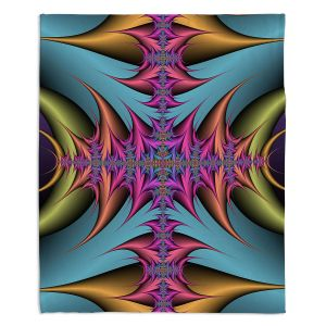 Artistic Sherpa Pile Blankets | Christy Leigh - Tribal Magic II