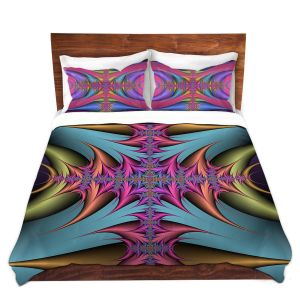 Artistic Duvet Covers and Shams Bedding | Christy Leigh - Tribal Magic II