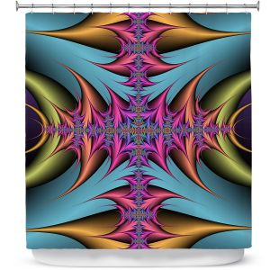Premium Shower Curtains | Christy Leigh - Tribal Magic II