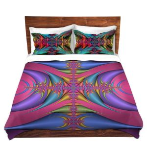 Artistic Duvet Covers and Shams Bedding | Christy Leigh - Tribal Magic III