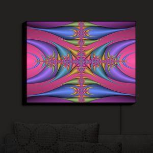 Nightlight Sconce Canvas Light   Christy Leigh - Tribal Magic III