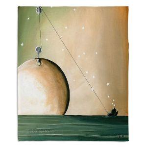 Artistic Sherpa Pile Blankets | Cindy Thornton - A Solar System