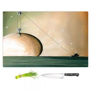 Artistic Kitchen Bar Cutting Boards | Cindy Thornton - A Solar System
