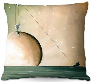 Throw Pillows Decorative Artistic | Cindy Thornton - A Solar System