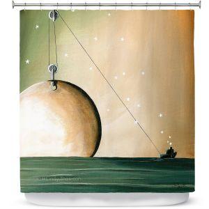 Premium Shower Curtains | Cindy Thornton - A Solar System