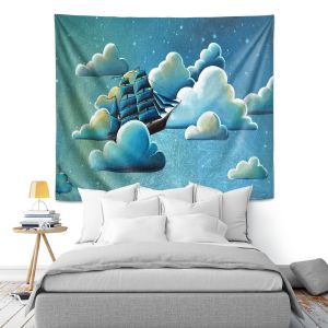 Artistic Wall Tapestry | Cindy Thornton - Astronautical